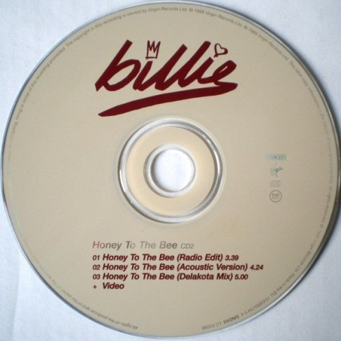 Billie piper honey to the bee single5