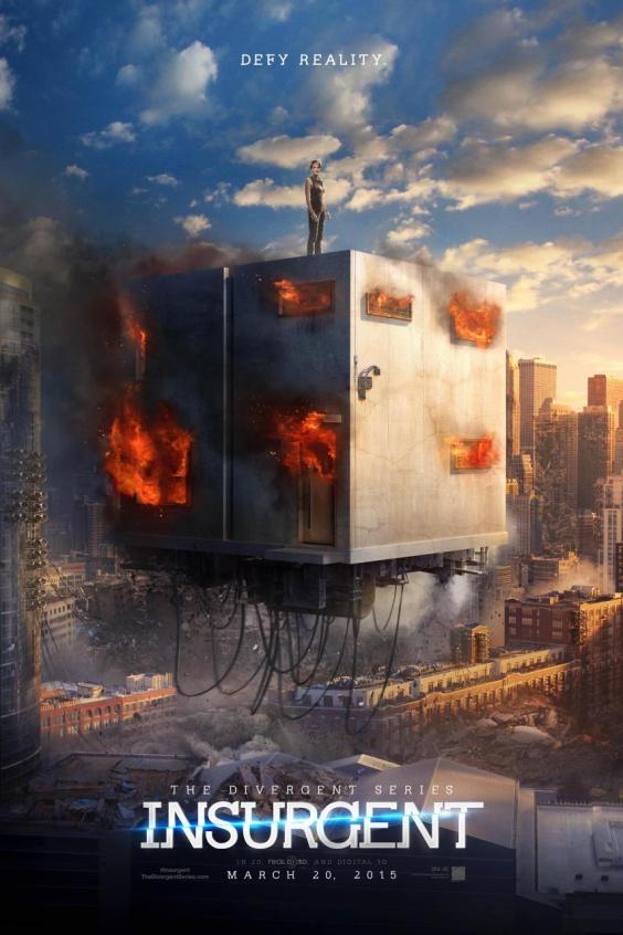 Divergente 2 teaser poster