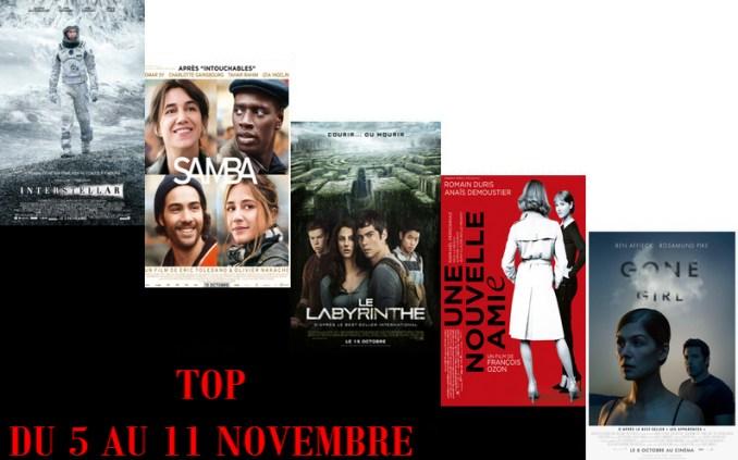 TOP 5 AU 11-11