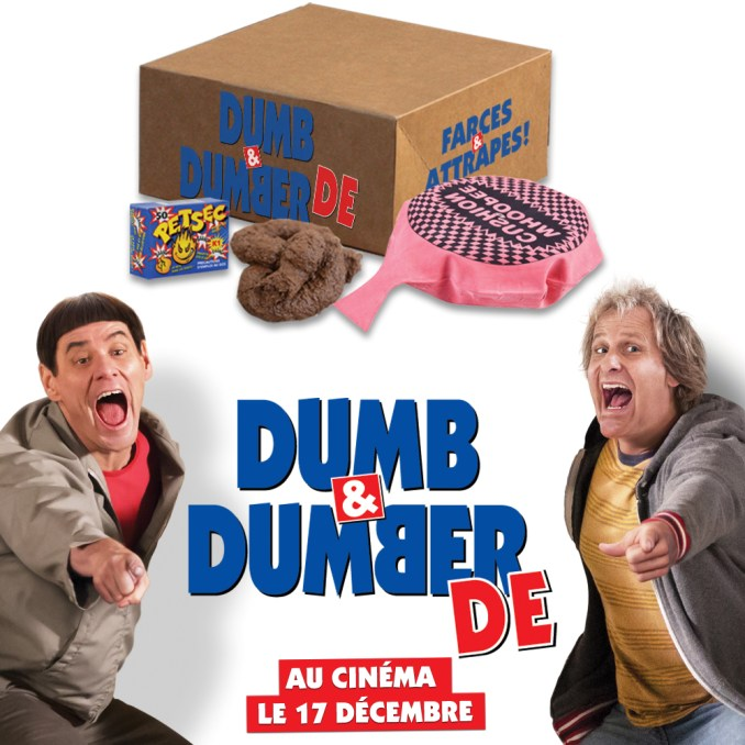 Dumb and dumber farces et attrapes