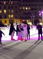 Pingouins de Madagascar patinoire de Paris13
