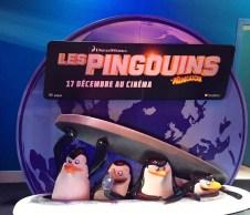 Pingouins de Madagascar patinoire de Paris21