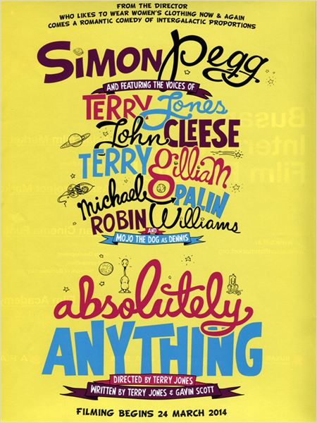 Absolutely Anything-poster