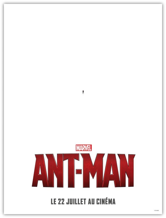 Antman affiche teaser FR