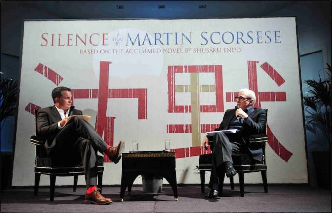 Martin Scorsese-Silence tournage