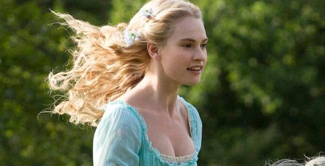Cinderella-lily james
