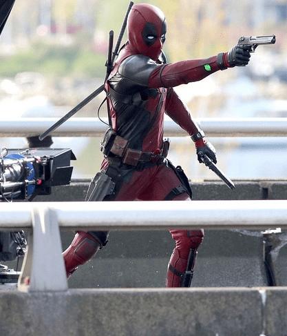 Deadpool-Photo tournage(1)