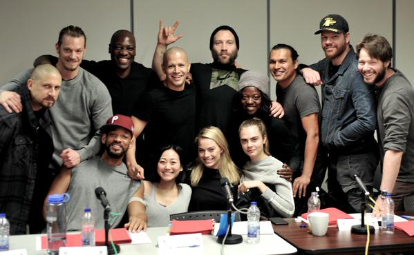 Suicide Squad Twitter casting