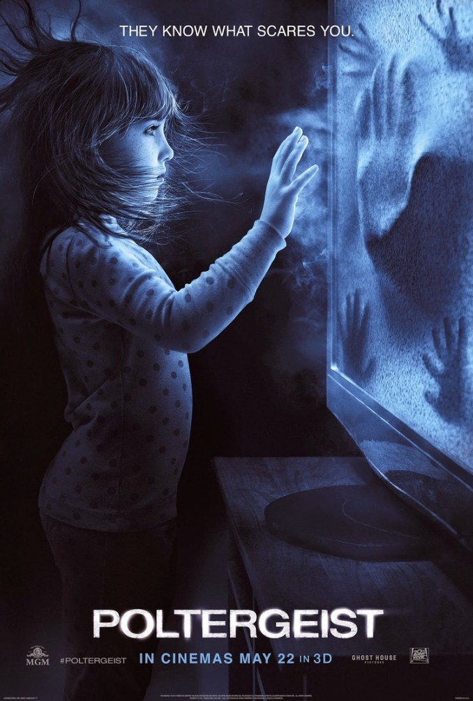 New US poltergeist poster