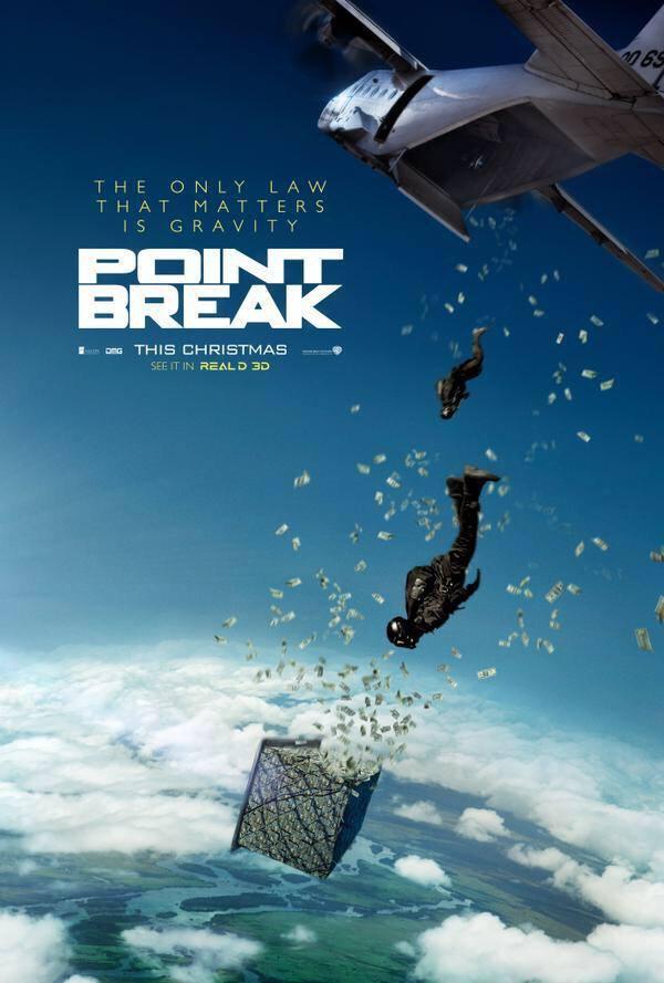 Point break remake affiche