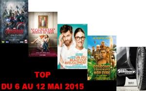 TOP 6 AU 12 MAI