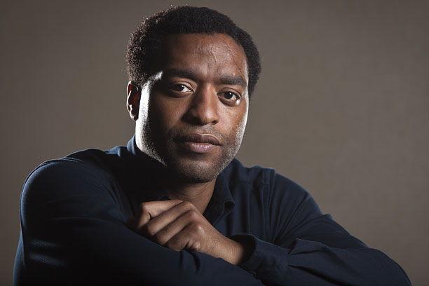 "Actor and star of the film ""12 Years A Slave,"" Chiwetel Ejiofor poses for a portrait, on Saturday, Sept. 14, 2013 in New York. (Photo by Carlo Allegri/Invision/AP)"