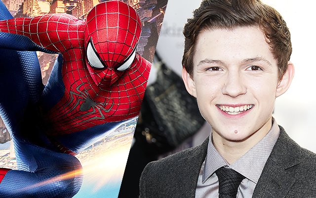 SpiderMan-Tom Holland