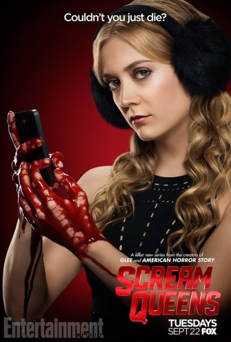 Scream Queens bloody poster sang12