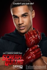 Scream Queens bloody poster sang3
