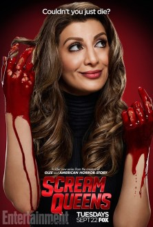 Scream Queens bloody poster sang6