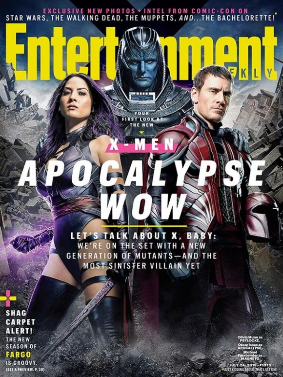X-Men Apocalypse-Entertainment Weekly