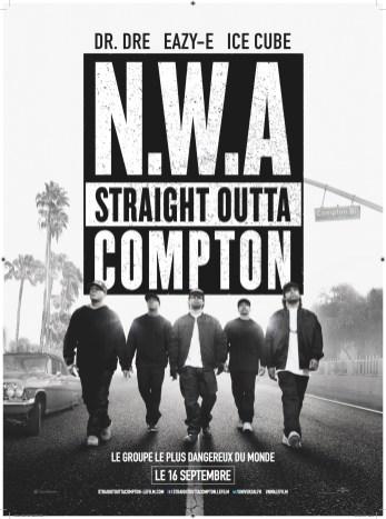 Straight Outta Compton affiche