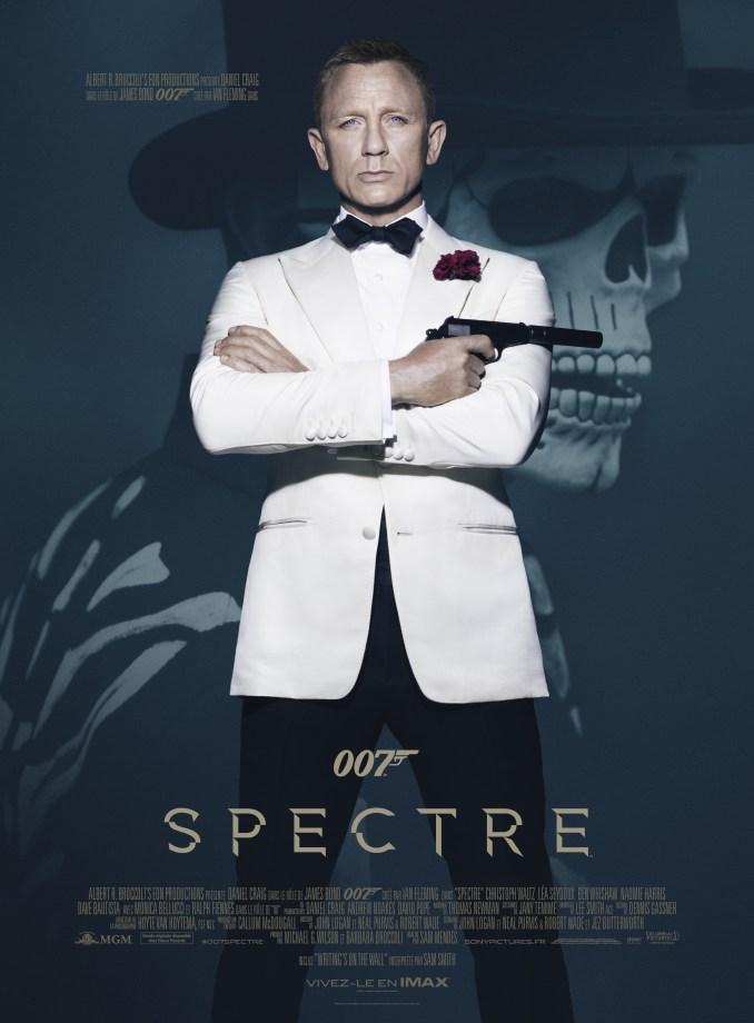 Spectre affiche définitive