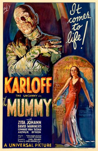 The mummy poster 1932