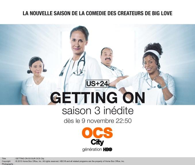 GETTING ON S3 SUR OCS City dès le 9 novembre 22:50