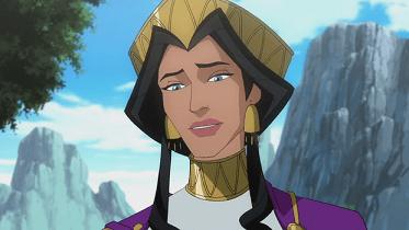 Hippolyte brune Wonder Woman