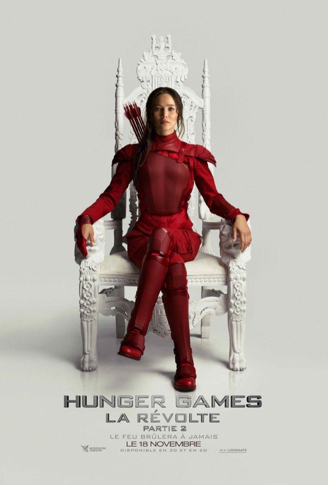 Hunger Games La Révolte Partie 2 affiche