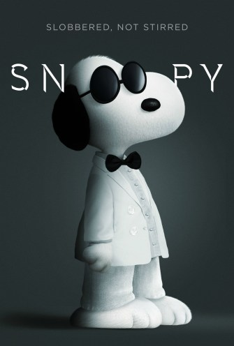 Snoopy James Bond2