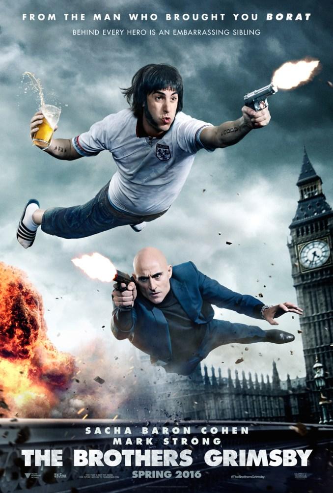 Grimsby - Agent trop spécial poster US
