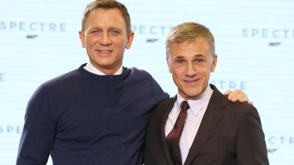 Daniel Craig-Christoph Waltz