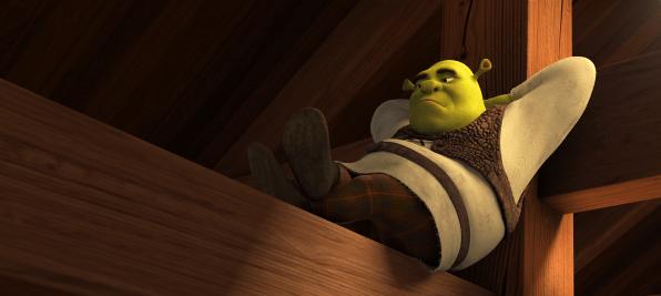 Kung Fu Panda 3-Shrek