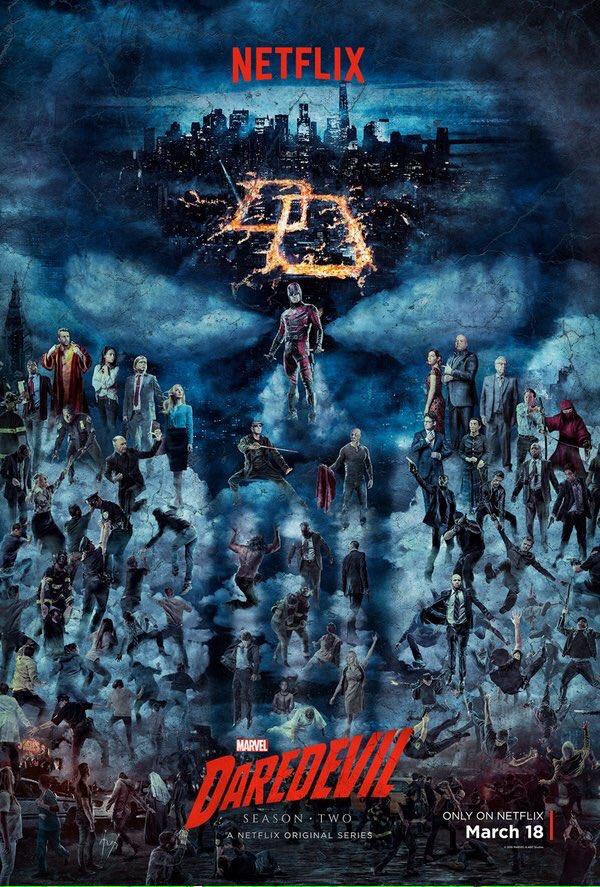 daredevil saison 2 poster