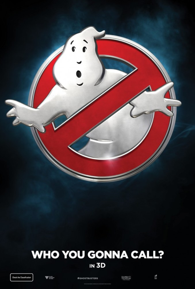 Ghostbusters poster teaser