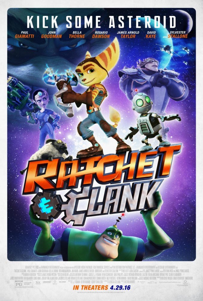 Rachet and Clank poster US 2