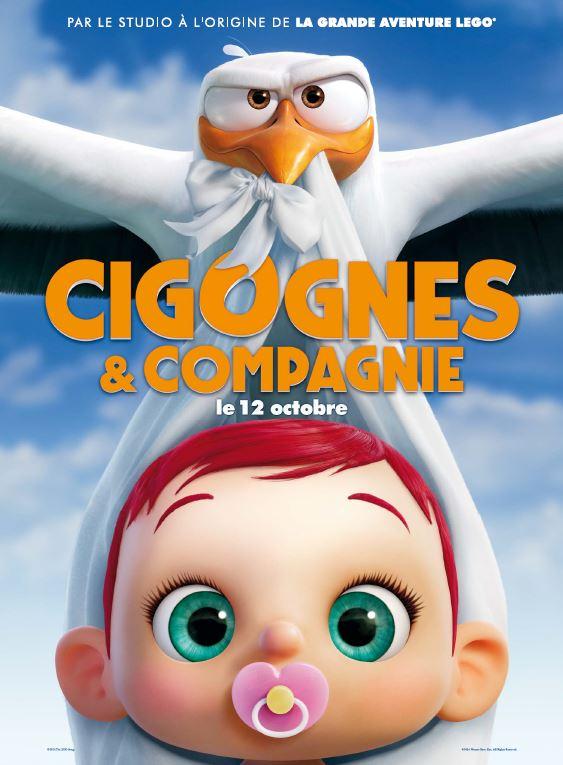 Cigogne et compagnie affiche FR