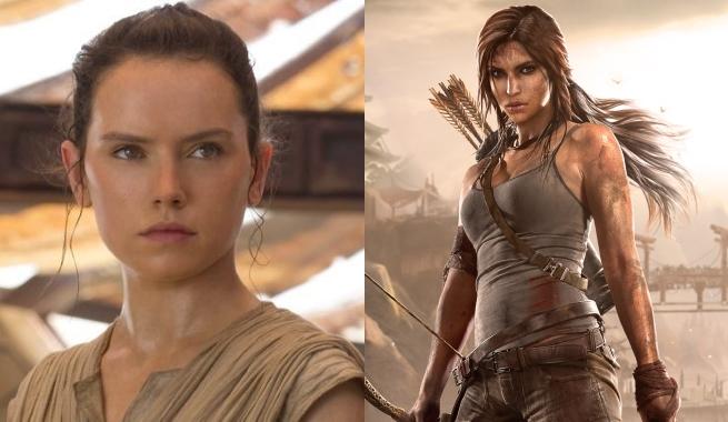 Daisy Ridley-Tomb Raider