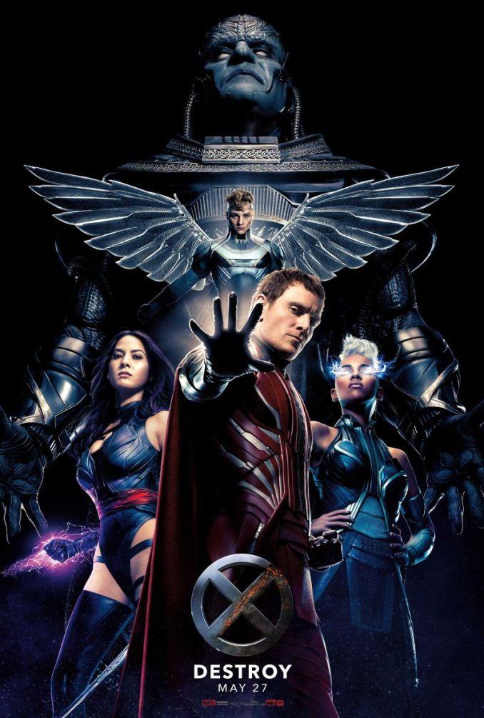 X-Men apocalypse poster Destroy
