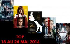 TOP 18 AU 24 MAI 2016