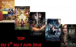 TOP 1 AU 7 JUIN 2016