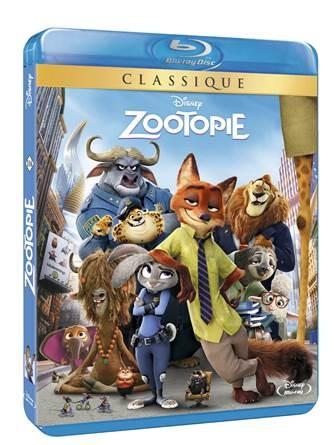 Zootopie Bluray