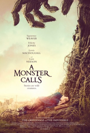 A monster calls affiche VO