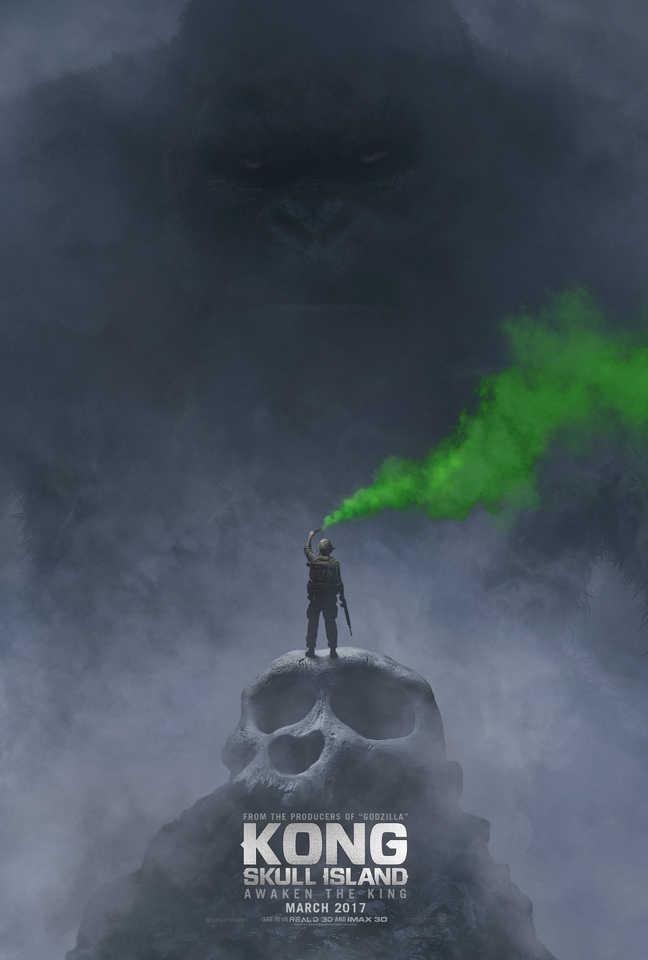 Kong Skull ISland poster Comic COn