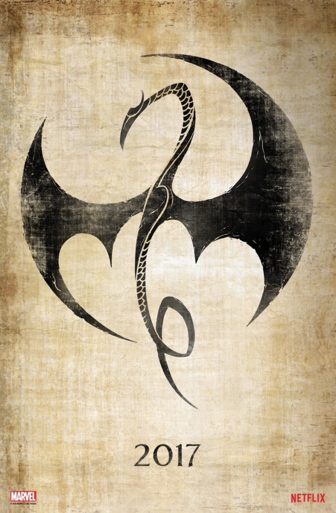 Marvel Iron Fist poster