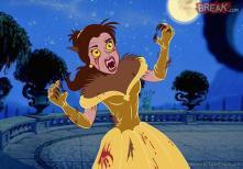 Belle est le loup Garou