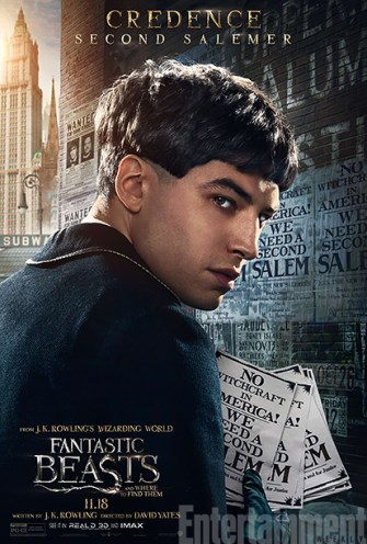 Fantastic Beasts Credence
