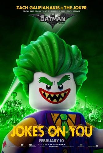 Lego Batman Persos poster US5