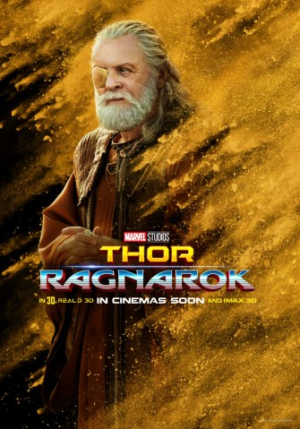 Thor ragnarok Odin