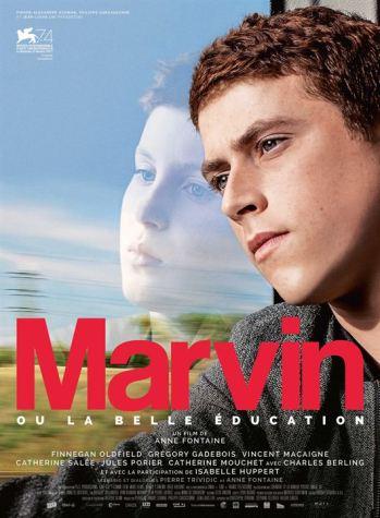 Marvin ou la belle éducation - affiche