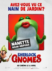 Sherlock Gnomes affiches FR5