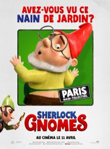 Sherlock Gnomes affiches FR6